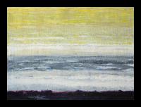 """Salt"" oil and graphite on panel, Louis Delegato 2009"