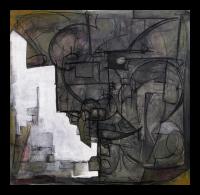 """The Source"" oil and graphite on panel, Louis Delegato 2008"